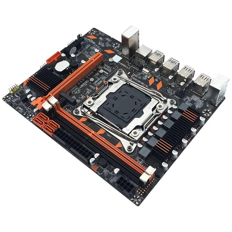 płyta LGA2011-3 nvme na tanie DDR3 za (63$) dla intel xeon E5-2678V3 12/24*3400 raczej nie do gier