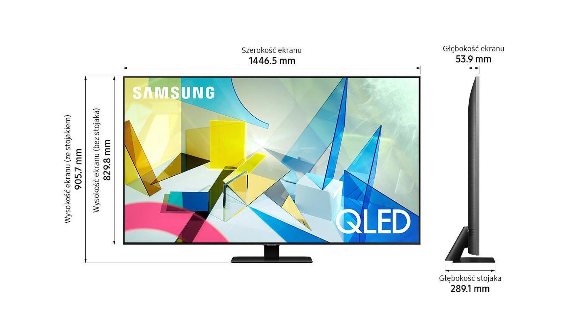 Telewizor SAMSUNG QLED QE65Q80TAT