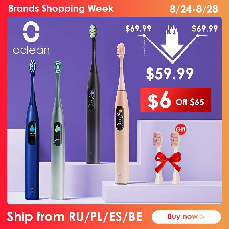 Promocje na szczoteczki Oclean X Pro 49.99$, Oclean One 51.99$, Oclean SE Air 56.99$ z Czech,