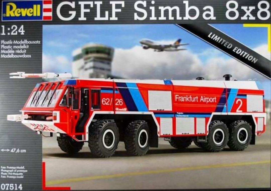Model do sklejania 1:24 REVELL GFLF SIMBA 8x8