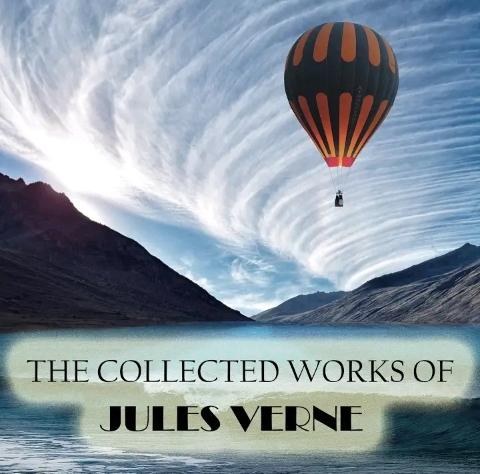 Zbiór arcydzieł Juliusza Verne'a. Audiobook w języku angielskim.