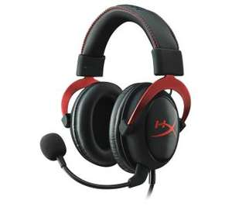 Słuchawki z mikrofonem HyperX Cloud II - 15 Hz - 25 kHz - złącze USB i stereo @RTVEuroAGD