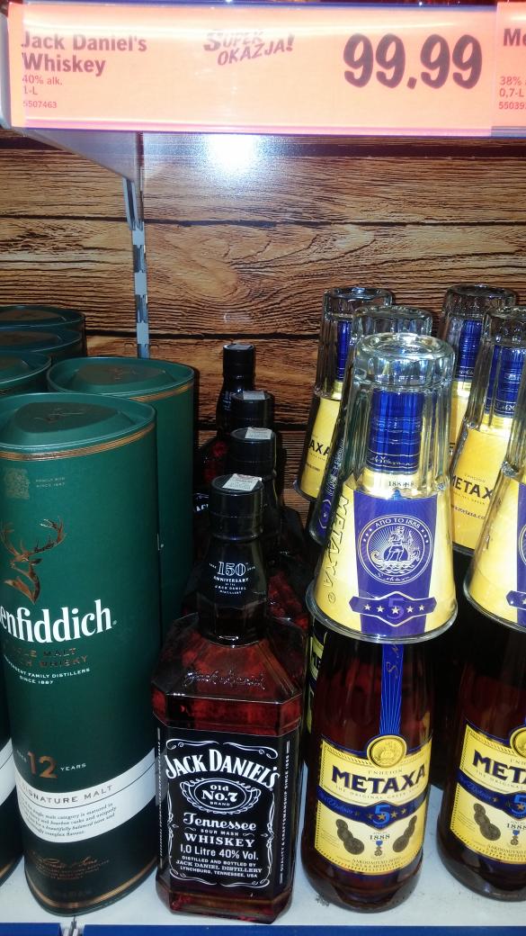 Whisky Jack Daniel's 1 litr za 99,99zł @ Lidl