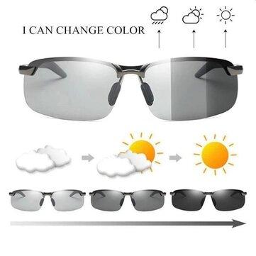 Okulary przeciwsłoneczne z fotochromem do prowadzenia auta