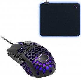 Zestaw myszka Cooler Master MM710 (lub inne: MM711) + podkładka MP750 L RGB