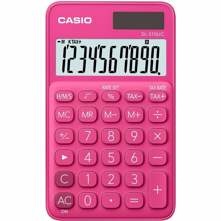 Kalkulator Casio SL-310UC, 1 liniowy, 10znakow, różne kolory, odbiór osobisty 0zł