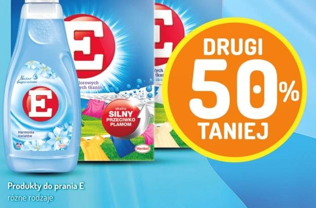Produkty firmy E - drugi 50% taniej