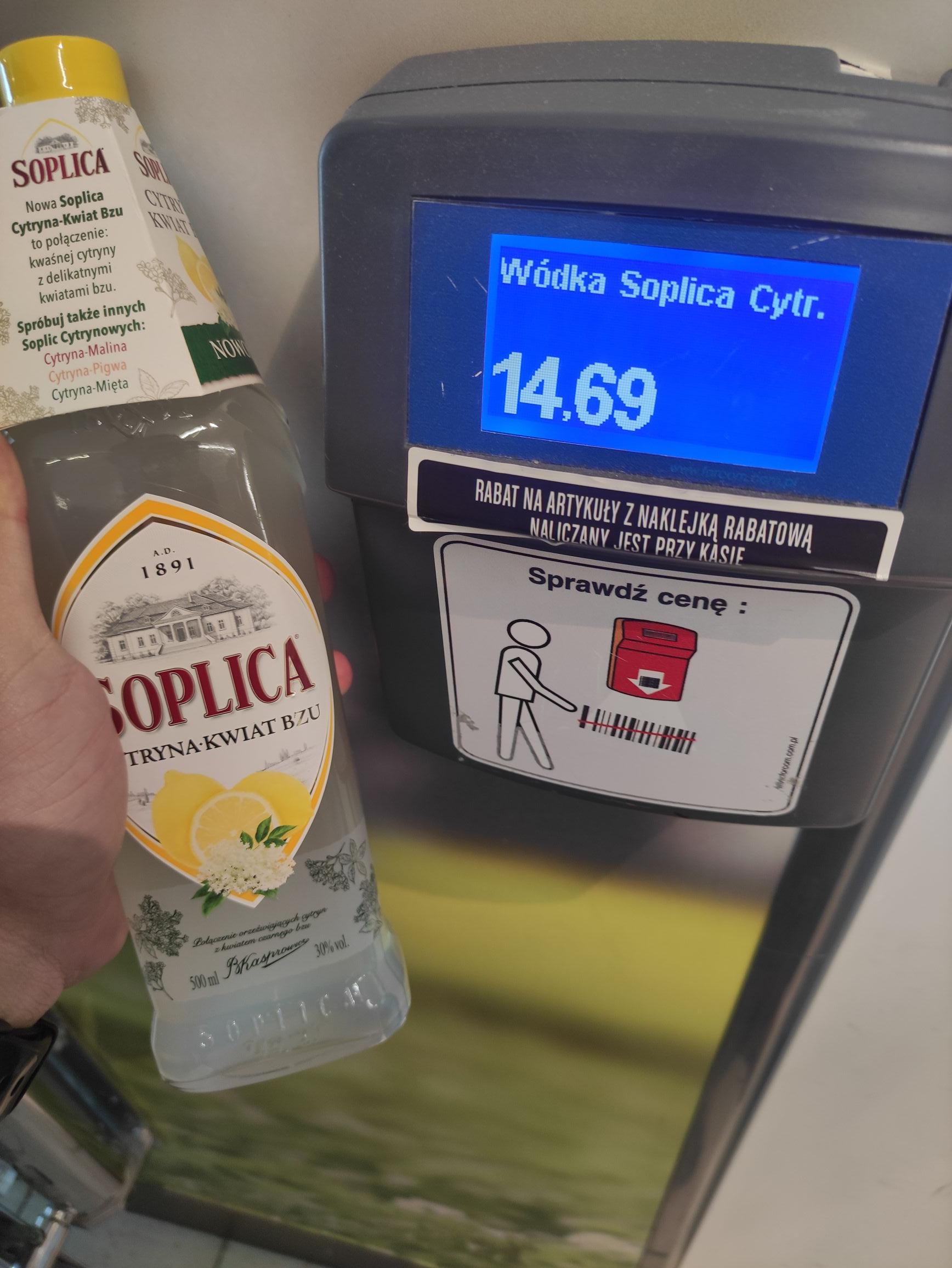 Wódka Soplica różne smaki, Lidl
