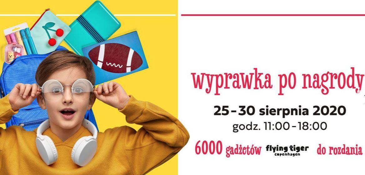 CH Nowe Czyżyny Kraków - wyprawki szkolne za zakupy