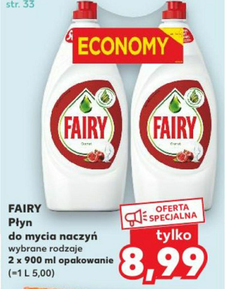 Fairy 2x900 ml Kaufland