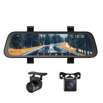 Kamerka samochodowa 70mai w lusterku nagrywająca w 1080p z Wi-Fi