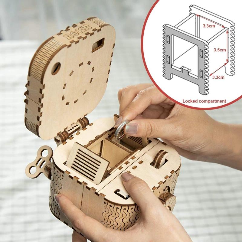 DIY Drewniane zabawki do samodzielnego złożenia - wiek 8+ @AliExpress