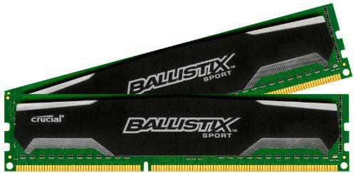 Ballistix Sport 16GB (2 x 8GB, 1600MHz DDR 3) za ok. 285zł @ Amazon.fr