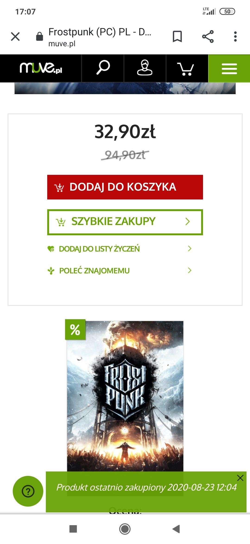 Frostpunk (PC) Muve.pl