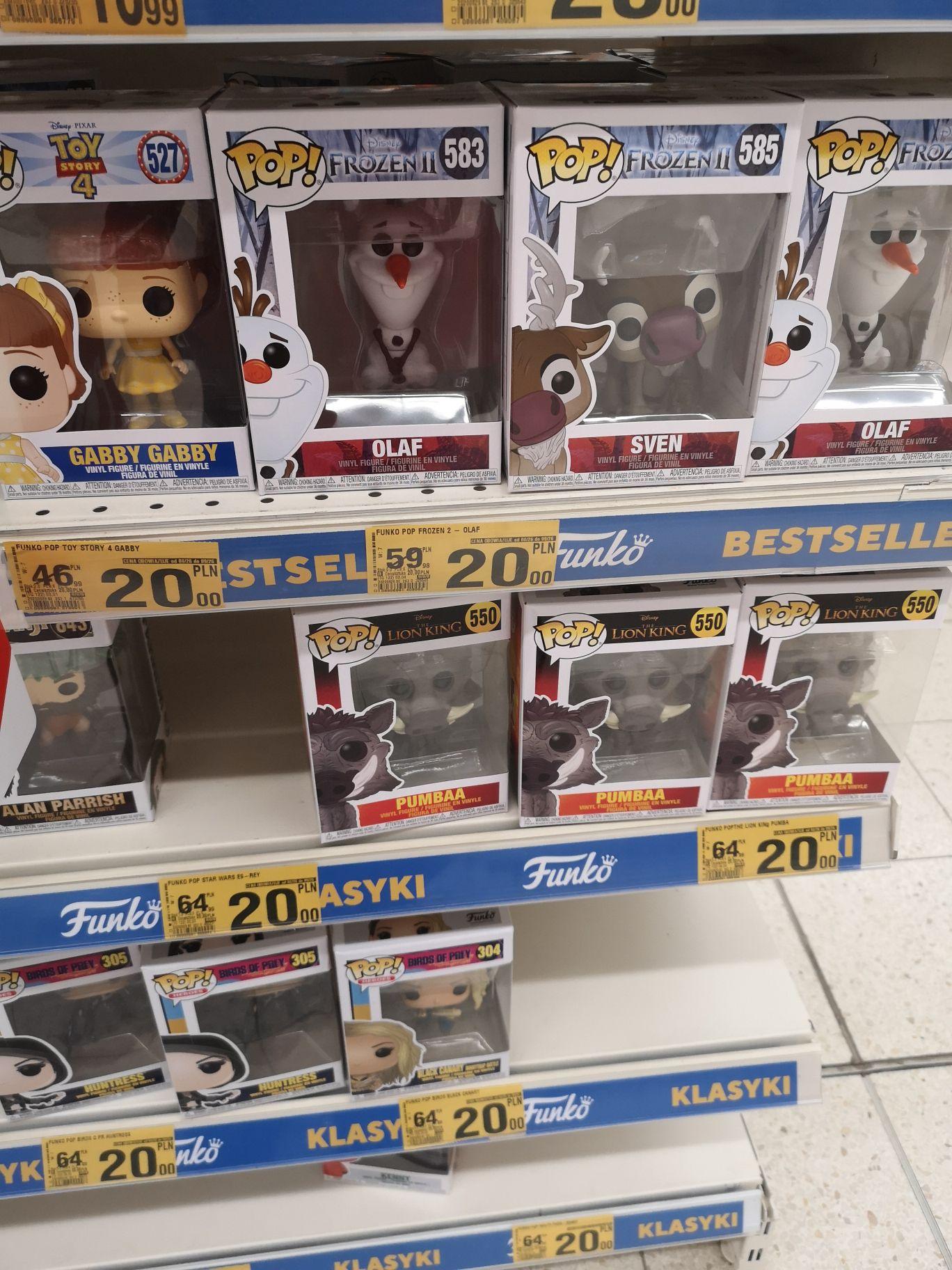 Figurki Funko Pop Auchan Szczecin