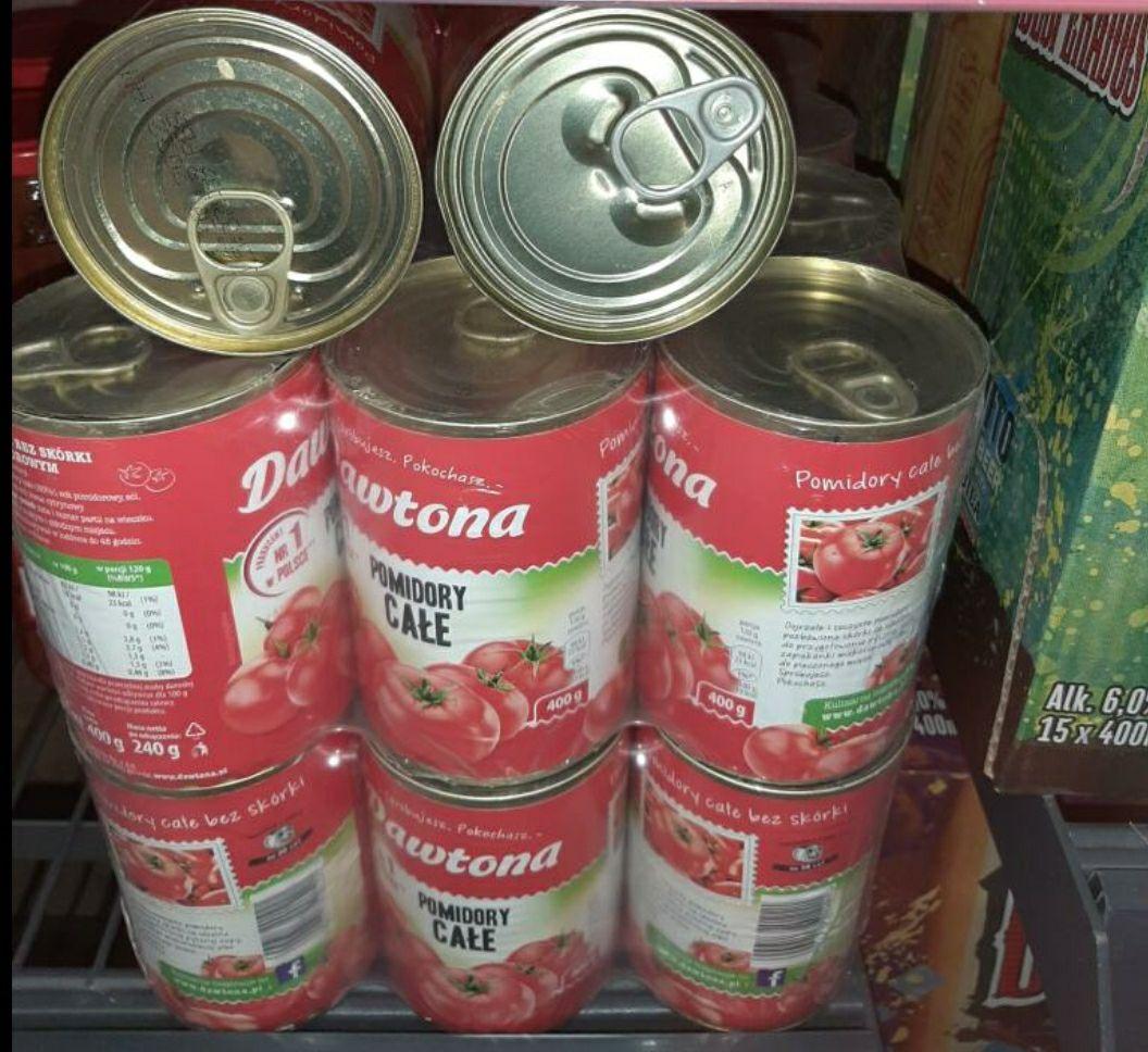 Pomidory w puszce Dawtona LIDL