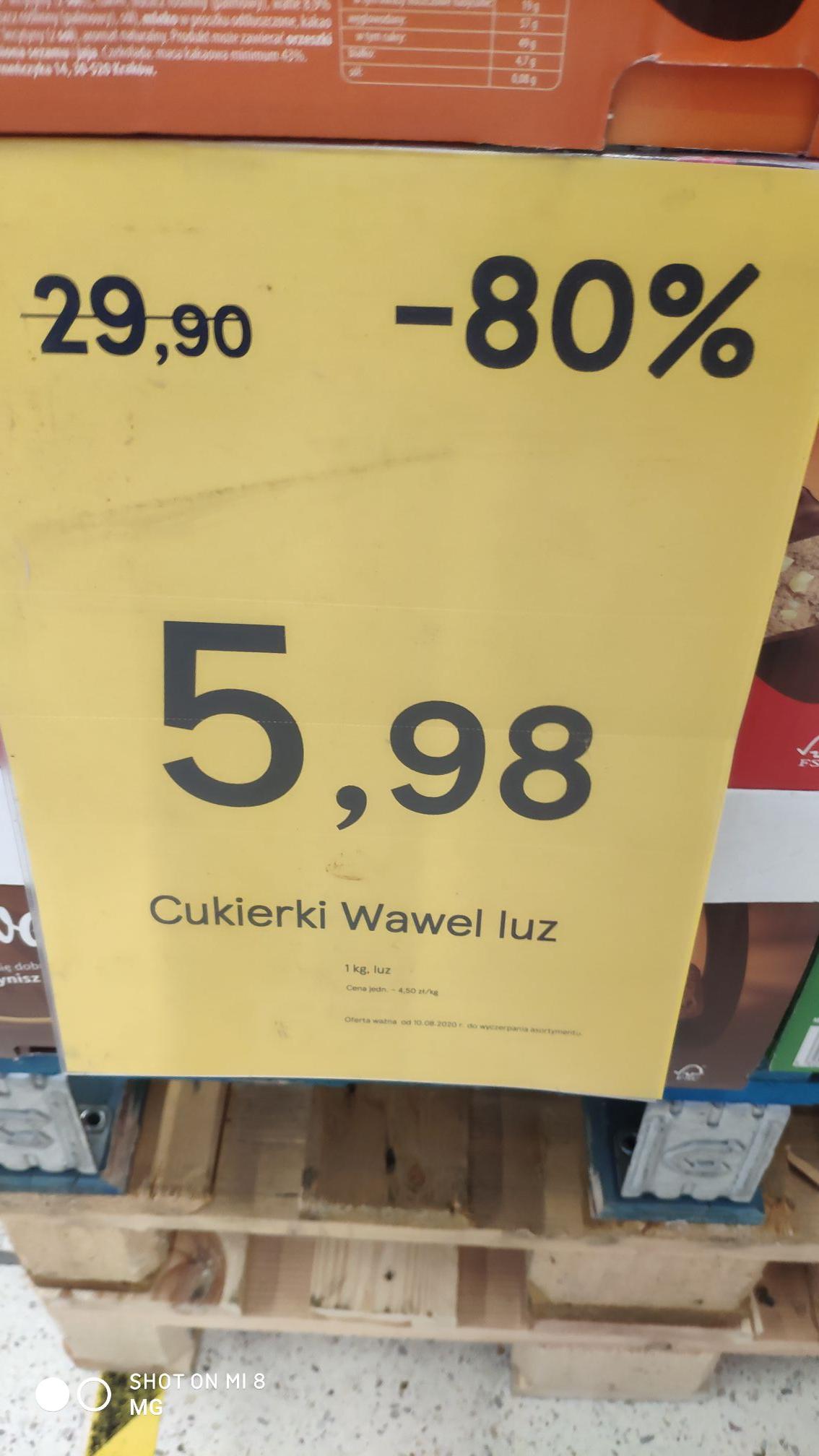 Cukierki Wawel na wage / Tesco Wrocław Bielany