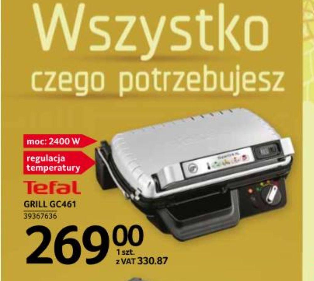 Tefal Grill GC461 w Selgros