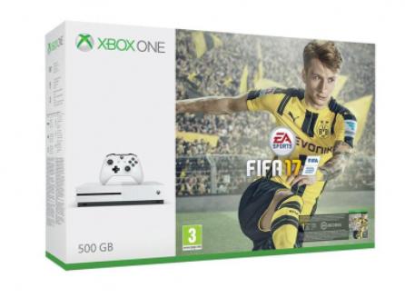 Xbox One S 500gb + FIFA17 (wygasło)