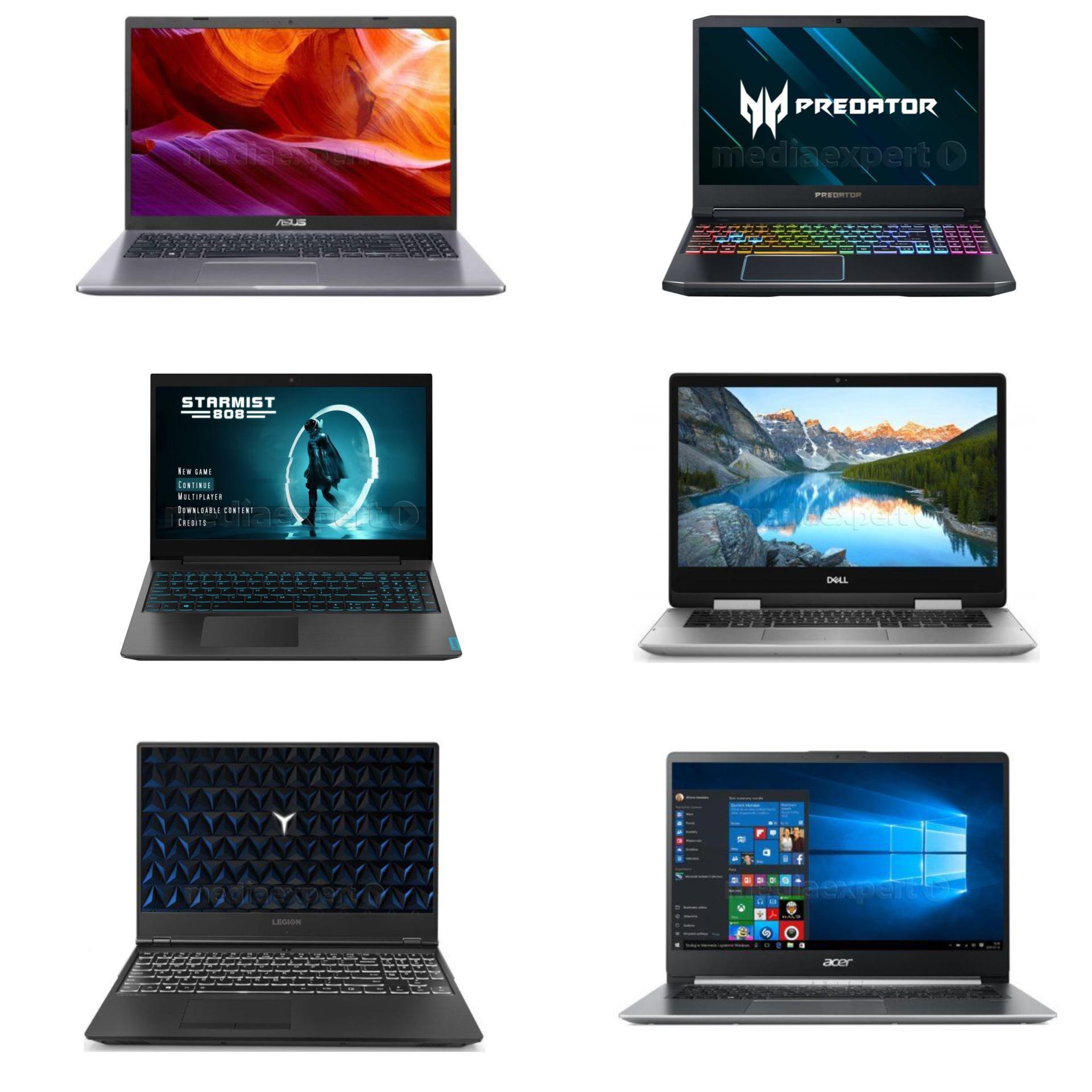 Weekend z laptopami w Media Expert
