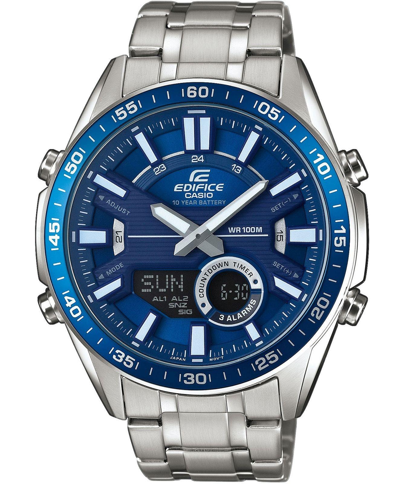 Zegarek męski EDIFICE Momentum Sporty Chronograph @Zegarownia - 10ATM