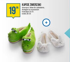 c3e1bb406eb2b6 Dziecięce kapcie-zwierzaki za 19,99zł @ Pepco - Pepper.pl
