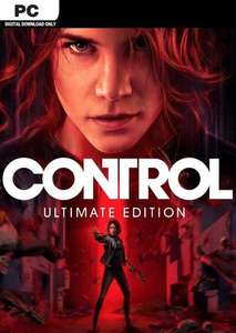 Control Ultimate Edition na Steam PC