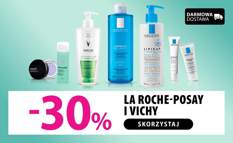 Promocyjne ceny - kosmetyki La Roche Posay i Vichy w @Hebe