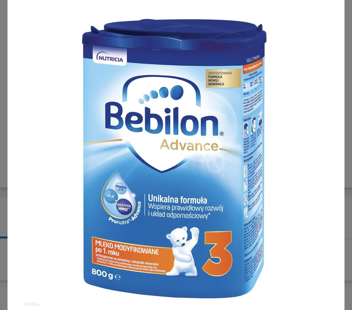Bebilon 3 w najniższej cenie w historii cefarm