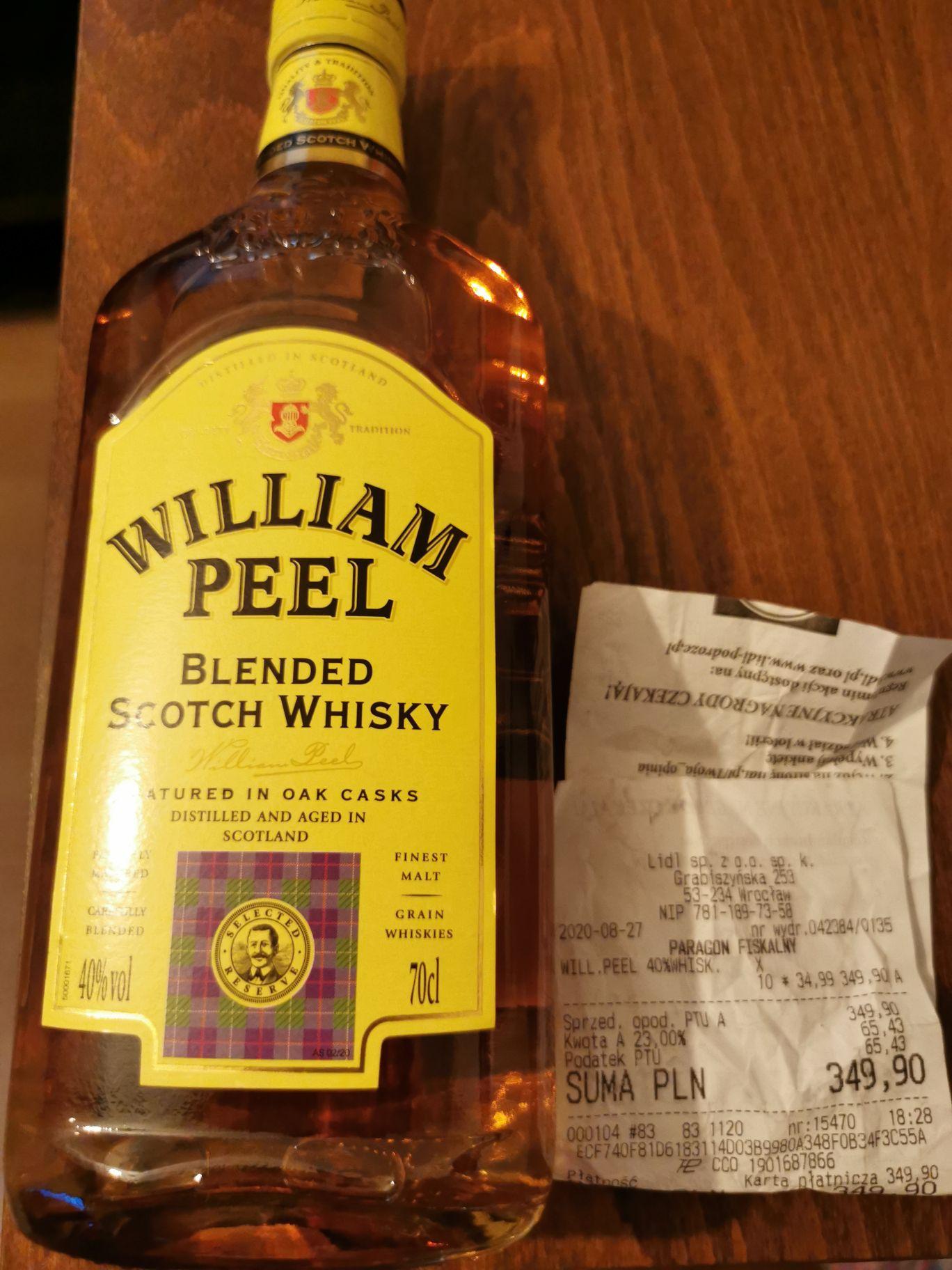 Whisky William Peel 0,7l LIDL