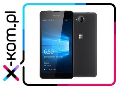 Lumia 650 dual simm, czarna, LTE