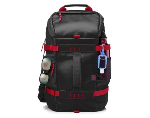 Plecak na laptopa HP Odyssey czerwono czarny