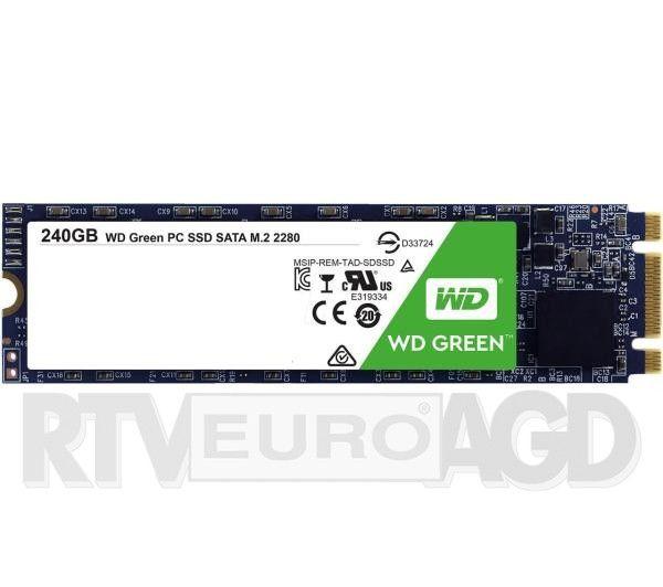 Dysk SSD WD Green 240GB M.2 SATA