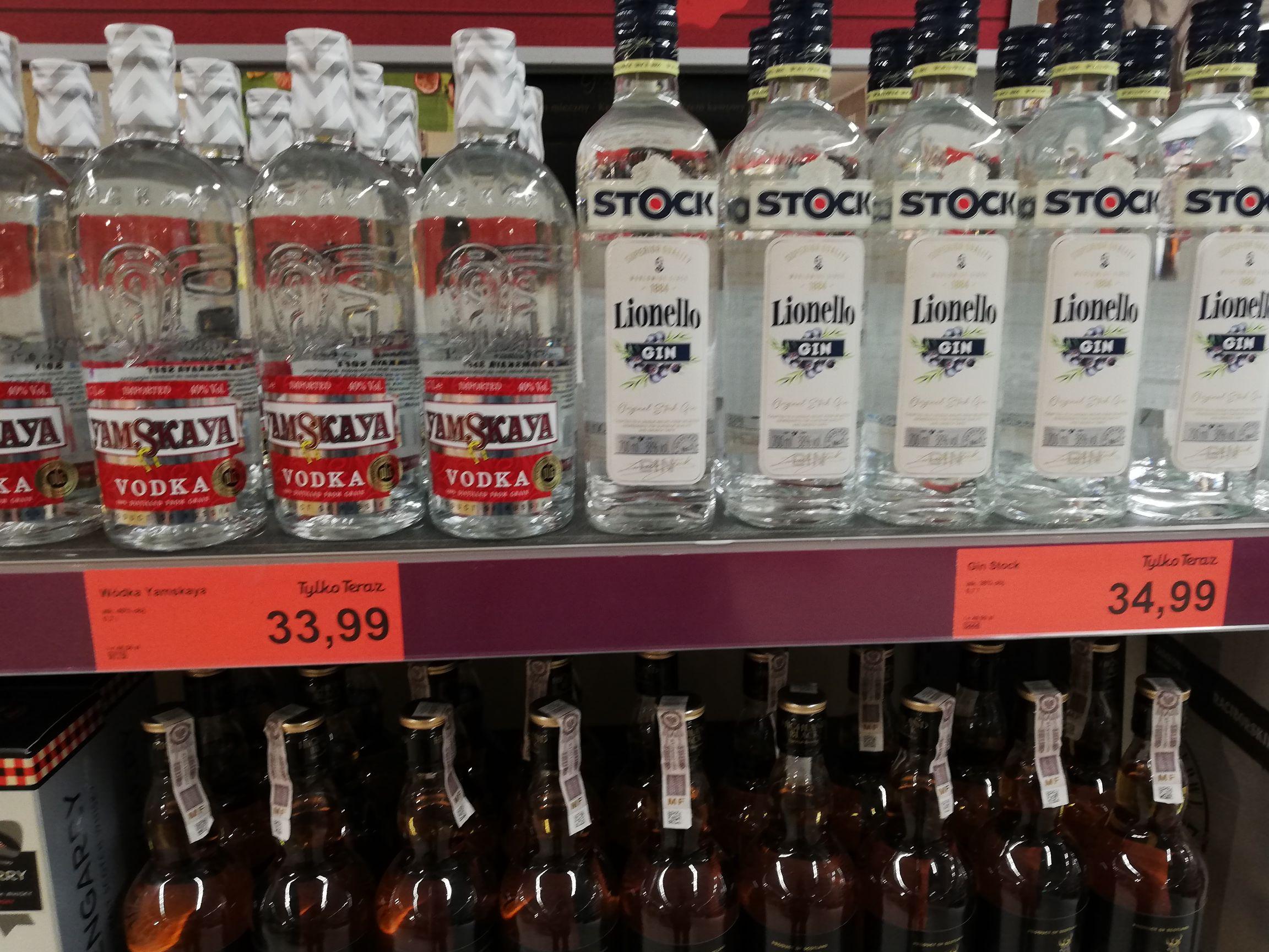 Lionello Stock Gin 38% 0,7l w sklepie Aldi