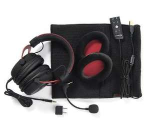 Hyperx cloud 2 headset czerwone