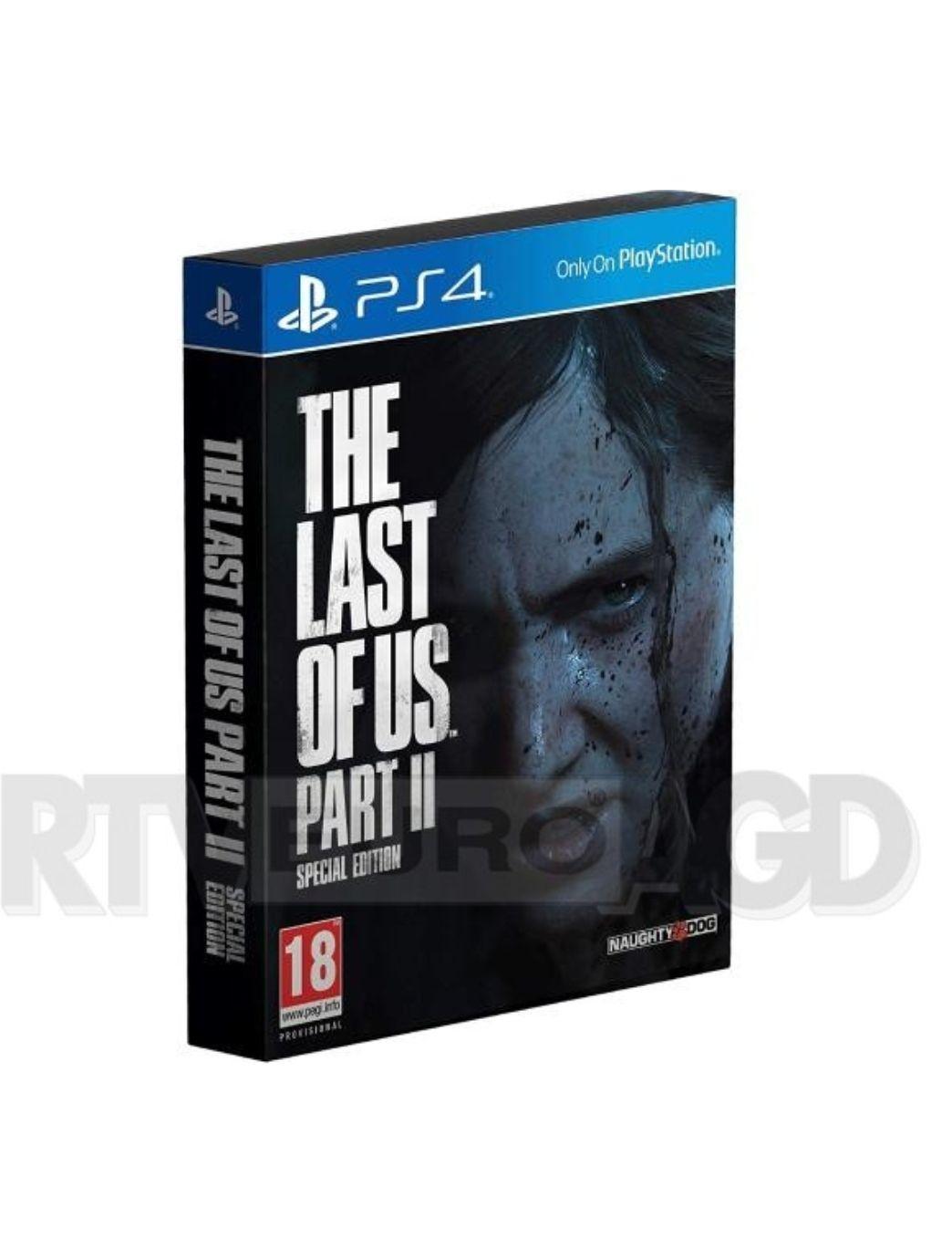 The last of us 2 ps4 edycja specjalna