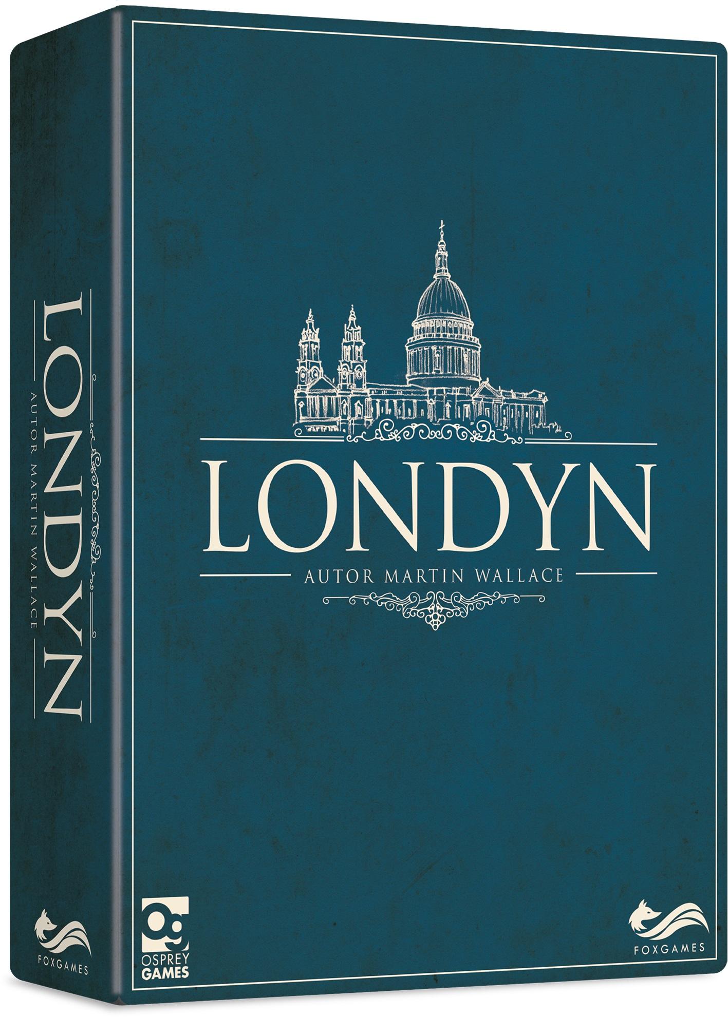 Londyn / Queendomino Gra planszowa @merlin.pl