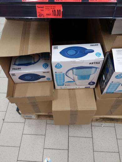 Dzbanek Dafi Astra Unimax w Kauflandzie