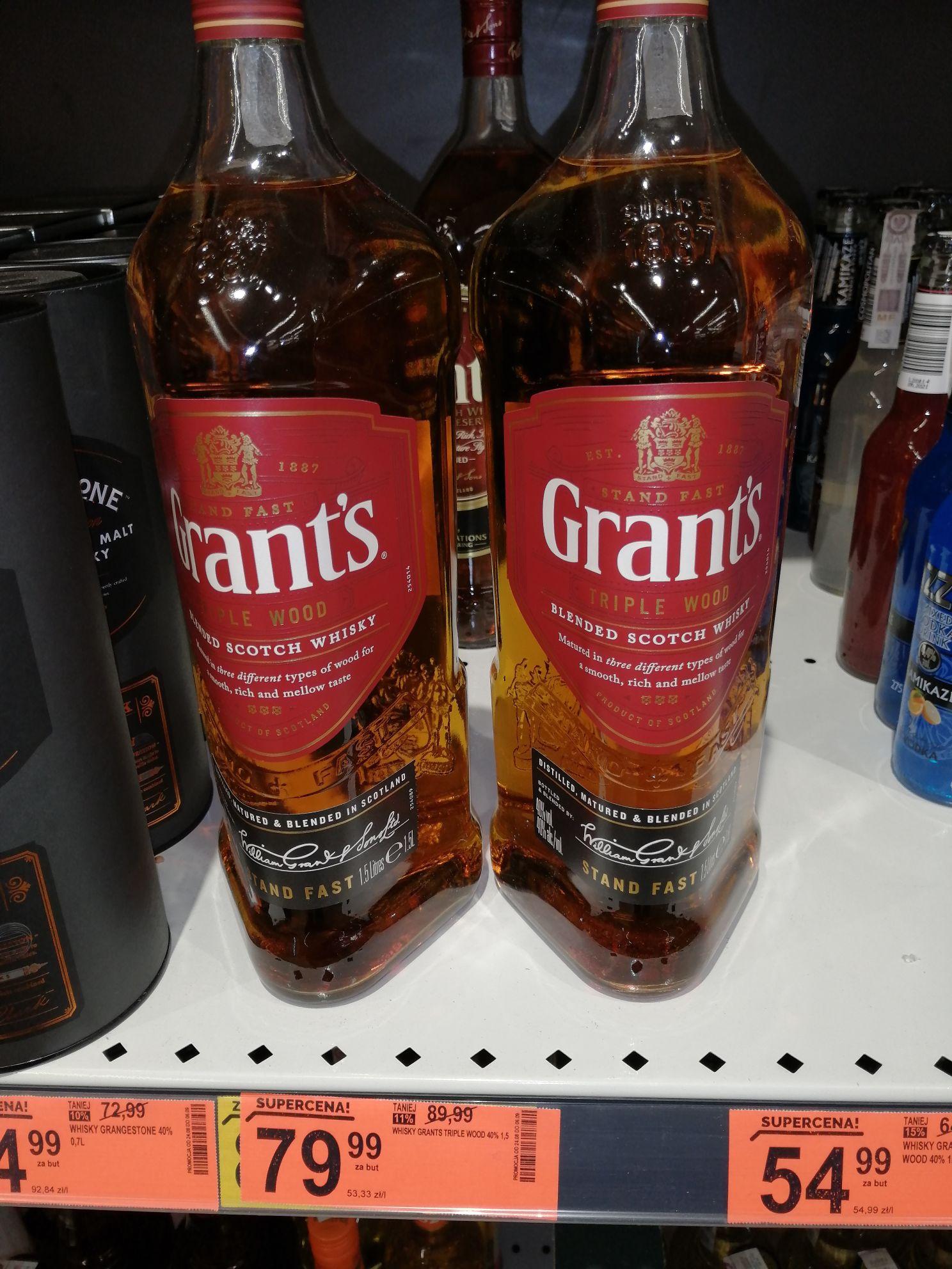 Whisky Grant's 1.5 l Biedronka
