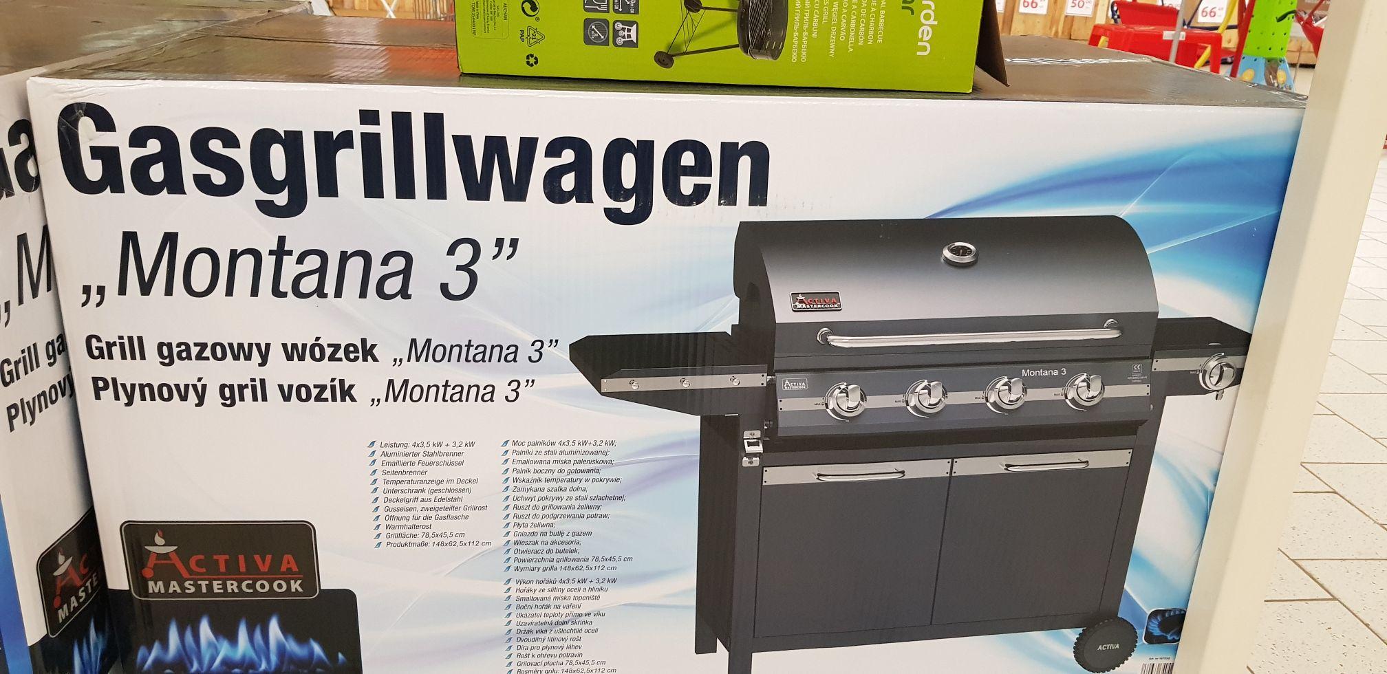 Grill gazowy Activa Montana 3 w Auchan Bytom