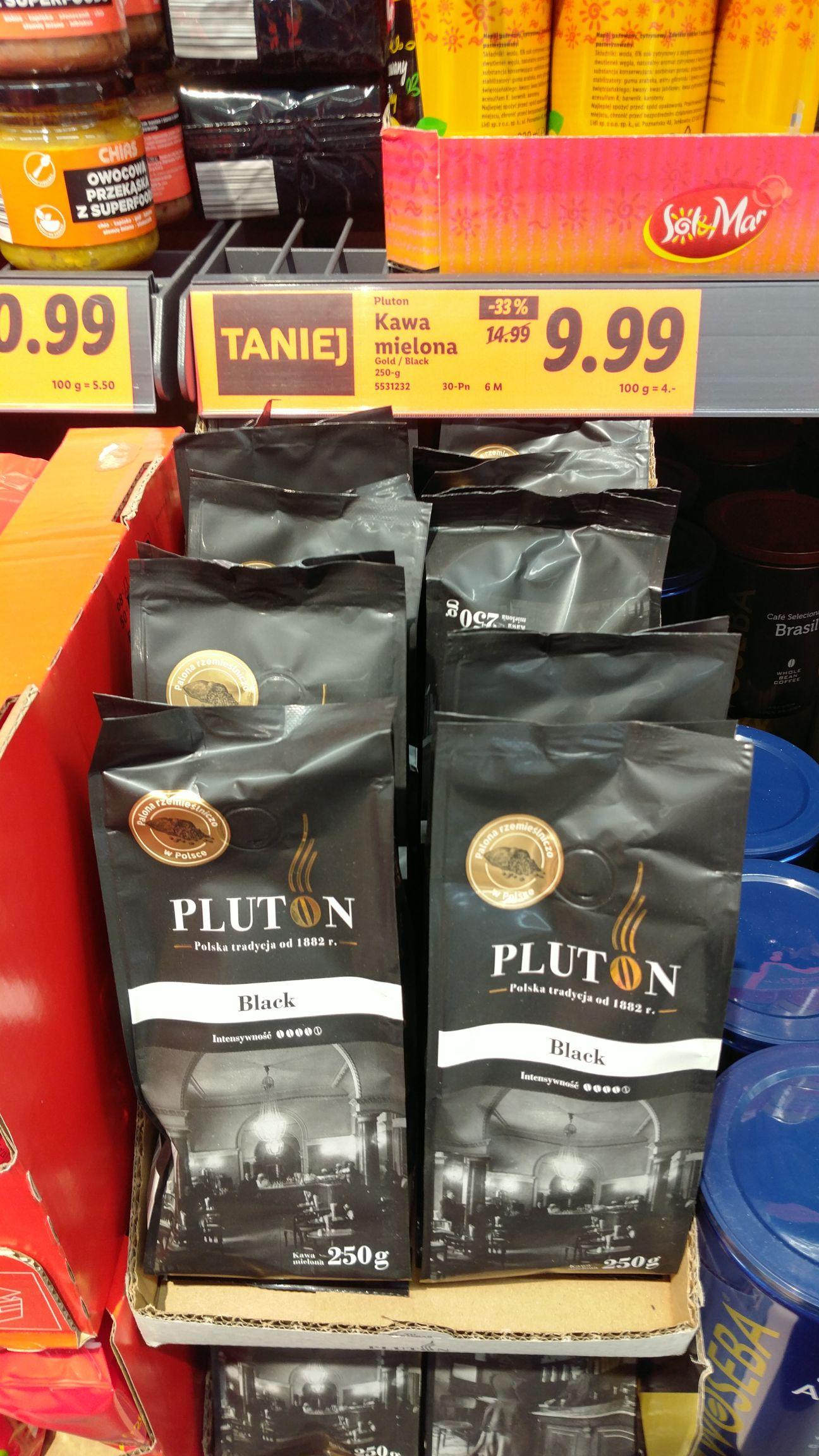 Kawa Pluton 250g mielona