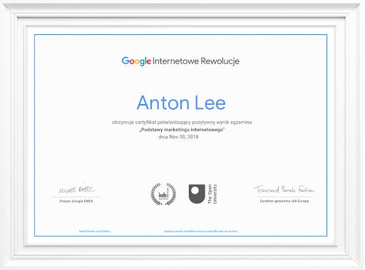 Internetowe rewolucje Google - kurs z certyfikatem i akredyatcją IAB
