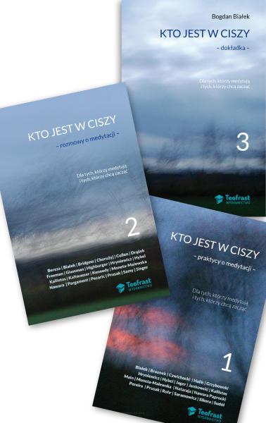 Kto jest w ciszy - zestaw 3 książek o medytacji - Przedsprzedaż