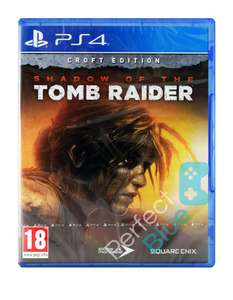 PS4 Shadow of the Tomb Raider Croft Edition i SHADOW OF THE TOMB RAIDER CROFT EDITION / DODATKI! PS4 - ALLEGRO