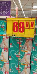 Pampers pants 3 @Carrefour