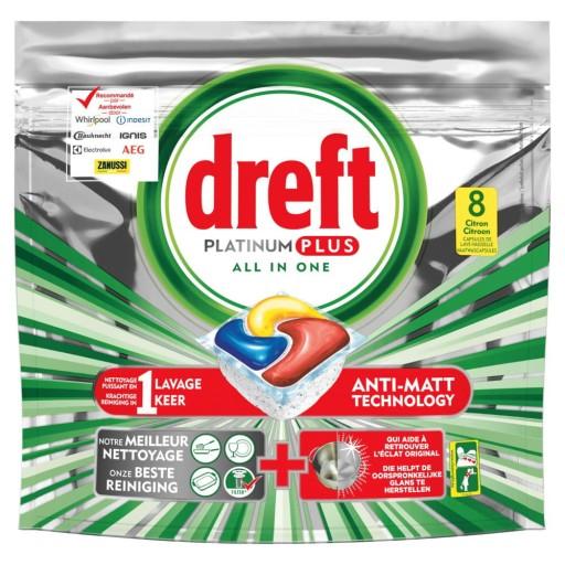 Dreft Fairy Platinum PLUS 96szt