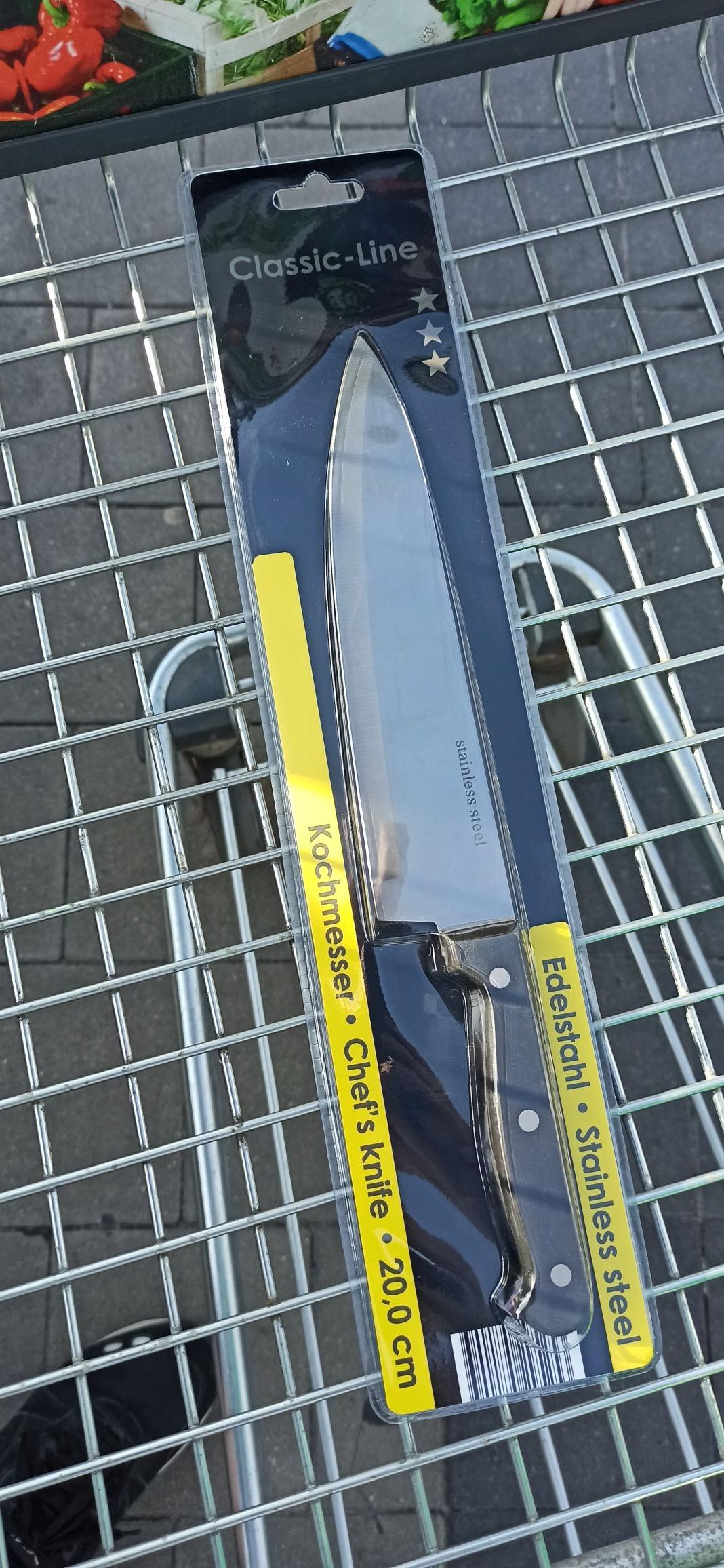 Nóż duży Kaufland 6.50