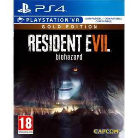 PS4 RESIDENT EVIL VII BIOHAZARD GOLD