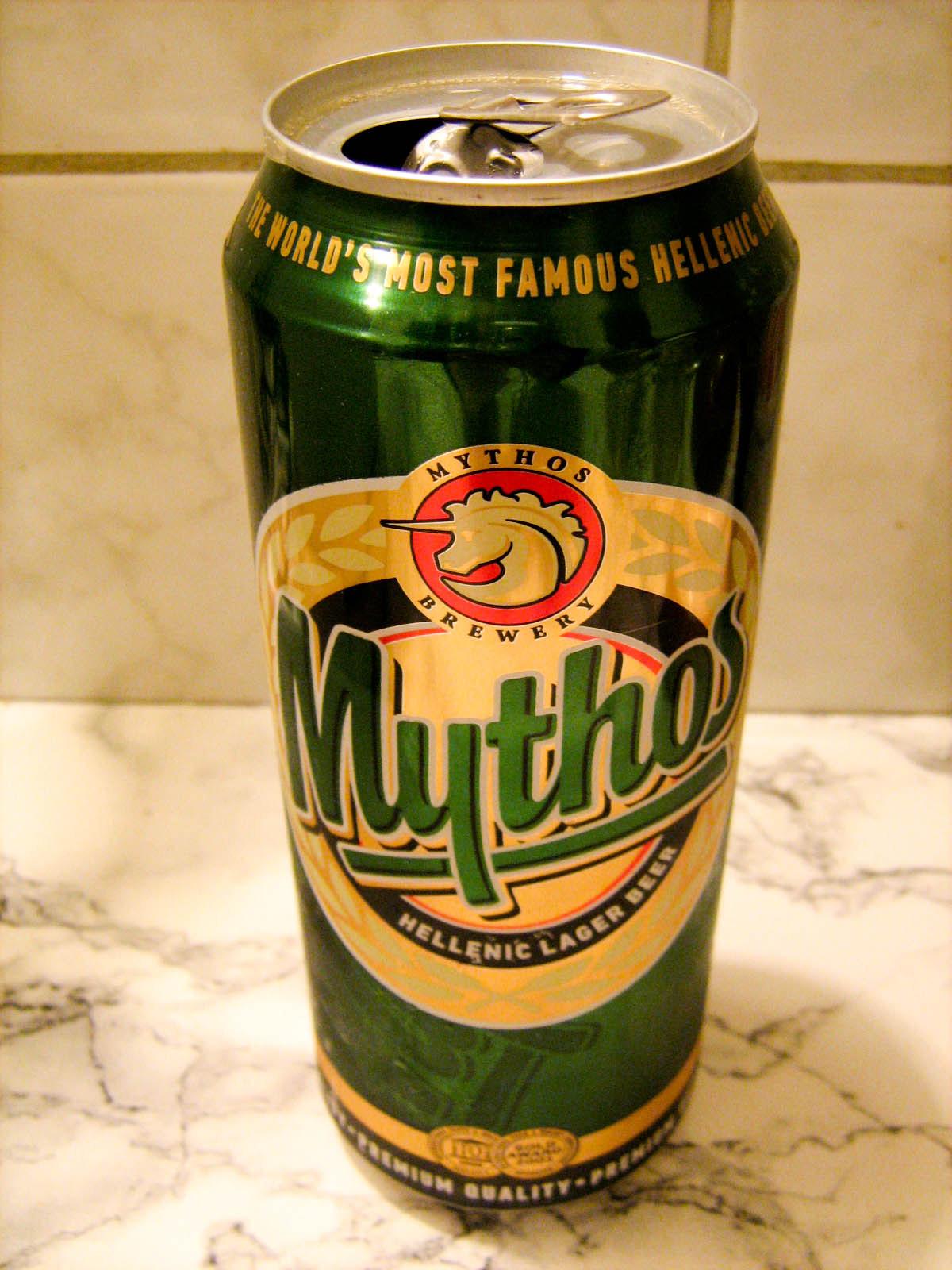 Piwo Mythos 4-pak w Lidlu