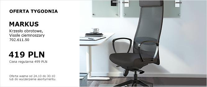 Krzesło obrotowe MARKUS, kolor Vissle ciemnoszary